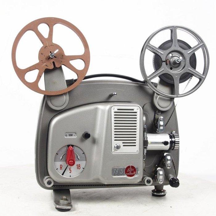 百寶軒 懷舊復古古董電影機瑞士Bolex18-5普8毫米8mm膠片放映機功能OK ZG2293