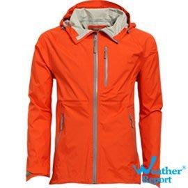 藍鯨高爾夫 MAJESTY AIR-TECH輕薄透濕防水外套(橘)#WB4109-01