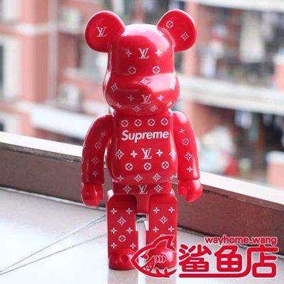 bearbrick積木熊暴力熊 LV.supreme兔仔熊 ?公仔潮玩