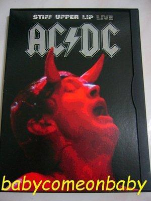 影音光碟 DVD AC DC stiff upper lip live 堅定不移 現場演唱會