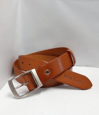 新掀貨牛仔服飾-W225-Wid Gattle真皮皮帶(100%義大利純牛皮)