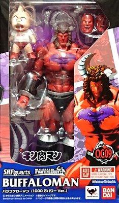 日本正版 萬代 S.H.Figuarts SHF 筋肉人 金肉人 水牛人 1000萬力量 可動 模型 公仔 日本代購