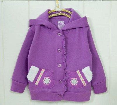 【子供の部屋】美國品牌Okie Dokie棉質連帽嬰兒外套 兒童外套 瑕疵品