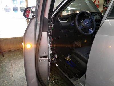 幸福車坊 5代 RAV4 專用 車門防撞警示燈 前二門 款
