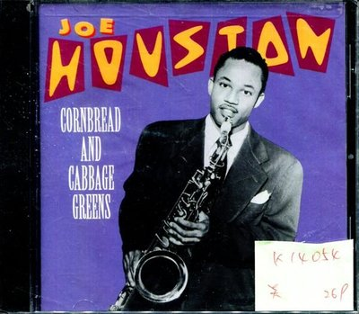 *真音樂* JOE HOUSTON / CORNBREAD AND CABBAGE 美版 全新 K14054