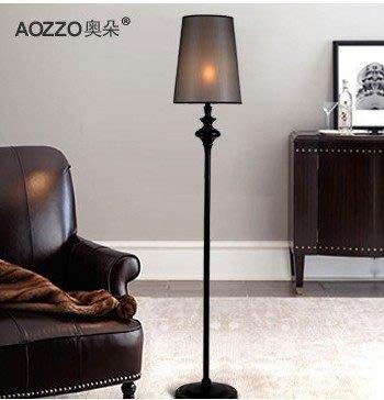 【優上精品】奧朵 歐式落地燈客廳燈美式臥室床頭燈立式臺燈立燈 30018(Z-P3249)