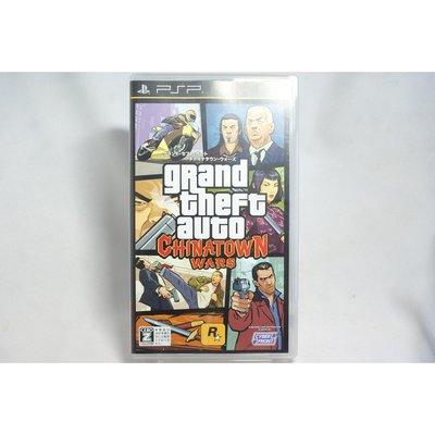 [耀西]二手 純日版 SONY PSP 俠盜獵車手:中國城風雲 Grand Theft Auto:Chinatown W