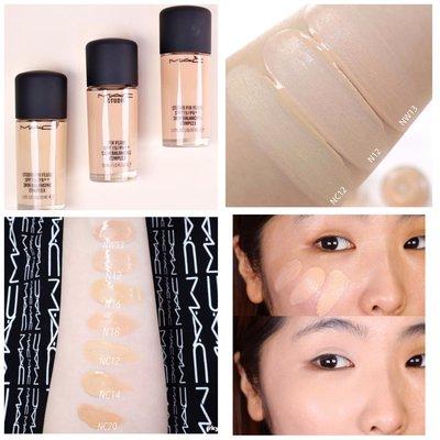 【韓Lin連線代購】M.A.C 超持妝無瑕粉底液 Studio Fix Fluid Foundation Skin