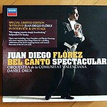 Juan Diego Florez,Anna Netrebko,Domingo 德版 CD+DVD無花98%新 Bel Canto Spectacular