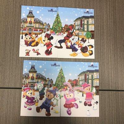 香港迪士尼樂園 聖誕咭2018