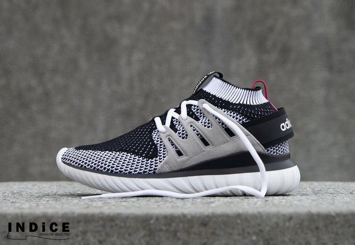INDiCE ↗ Adidas Tubular Nova PK S74918 運動休閒鞋 針織白 女段