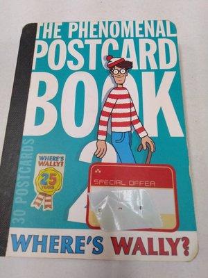 fg☆『威利在哪裡 Where's Wally The Phenomenal Postcard Book 2』《》