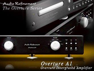 【風尚音響】Audio RefinementOverture A1 綜合擴大機