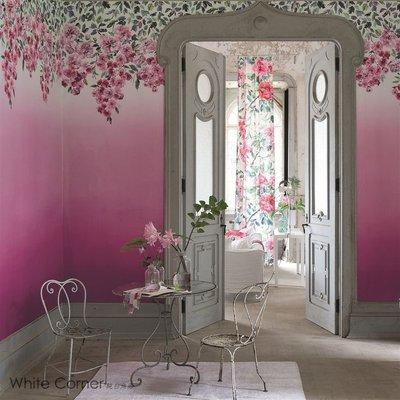 【White Corner 純白角落】英國 DESIGNERS GUILD 花園裡的玫瑰 壁紙  浪漫漸層 眾神的玫瑰花