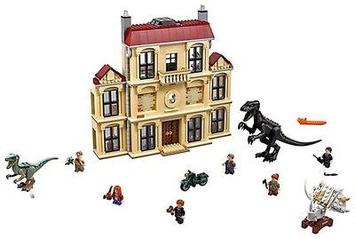 4/30現貨到 樂高 LEGO 75930《侏羅紀世界:殞落國度》  亂鬧洛克伍德的房子 侏儸紀 全新未拆