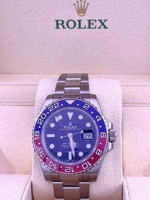 Rolex GMT Master (2) 116719 BLRO 藍面 (2018年新款) (歐洲 水貨)