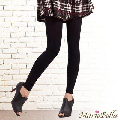 MarieBella 140D高彈力刷毛保暖九分褲襪 (黑)【KS12019】 新北市
