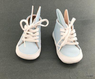 [我是寶琪]  MINNA PARIKKA 藍色兔子嬰兒鞋