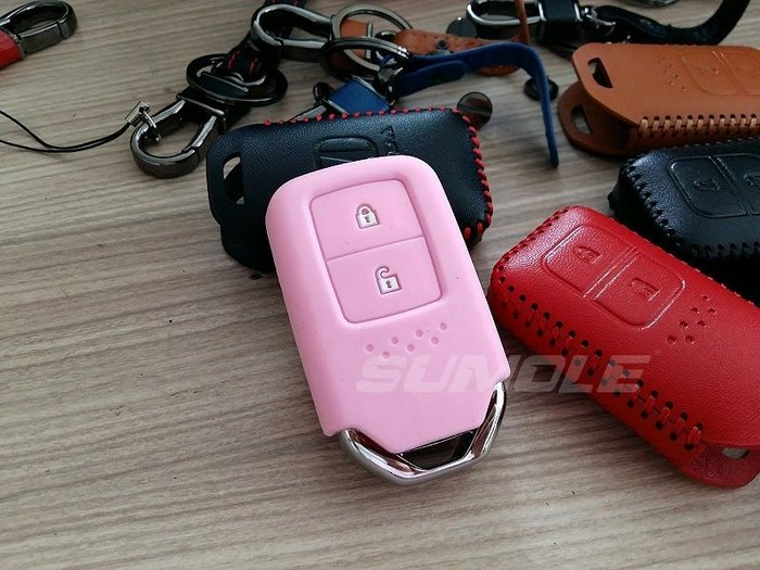 HONDA 本田 HR-V HRV (CRV5 CRV五代也可) 晶片鑰匙包 (免鑰匙用) 鑰匙套 矽膠套 果凍套 V