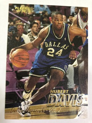 Hubert Davis #303 1997-98 Fleer Basketball