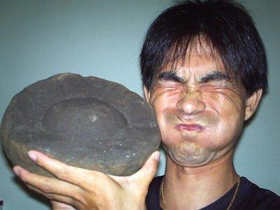 野性神奇石蛋.前所未見.是恐龍蛋中蛋還是石頭蛋寶寶