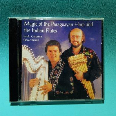 Magic Of The Paraguayan Harp & the Indian Flutes 美國全銀圈版/二手CD