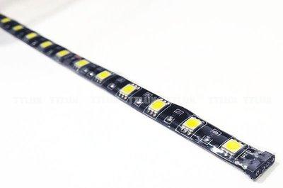 18顆5050 LED 軟燈條30公分 24V