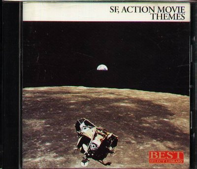 K - SF, ACTION MOVIE THEMES LIBRARY - 日版 CD+OBI