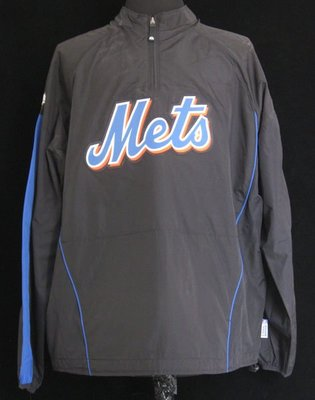2010 New York Mets #27 Catalanotto Game Issued Jacket