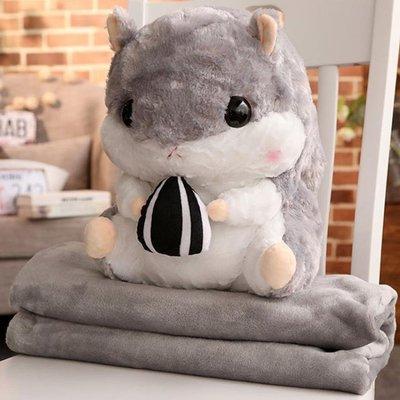 倉鼠龍貓娃娃公仔毛絨玩具手捂超萌冬天插手玩偶可愛女孩暖手抱枕