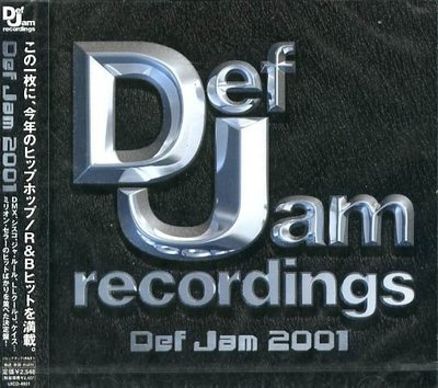 K - Def Jam 2001 - 日版 - NEW DMX LL Cool J Foxy Brown Sisqo