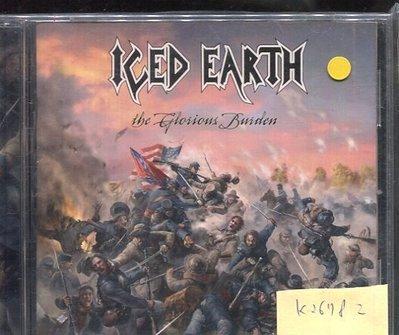 *真音樂* ICED EARTH / THE GLORIOUS BURDEN 二手 K26782