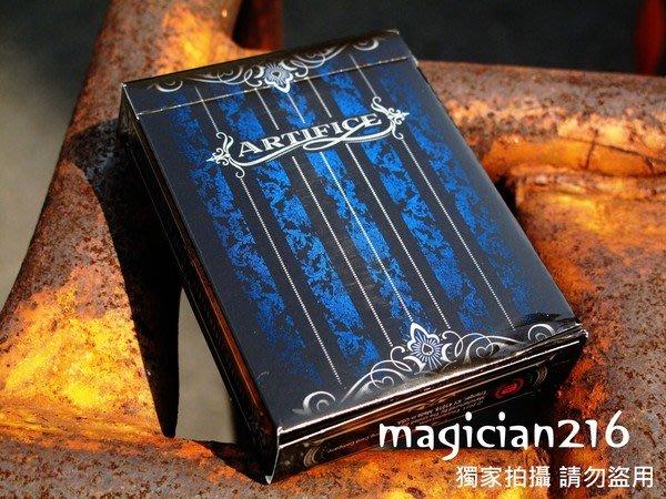[絕版商品]美國Ellusionist 原廠 Artifice Playing Cards 詭計牌1版 ~ 全新未拆