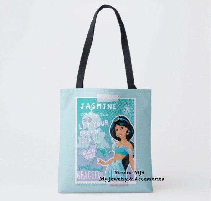 *Yvonne MJA* 美國迪士尼 預購區 限定正品 阿拉丁 茉莉公主 經典手提袋