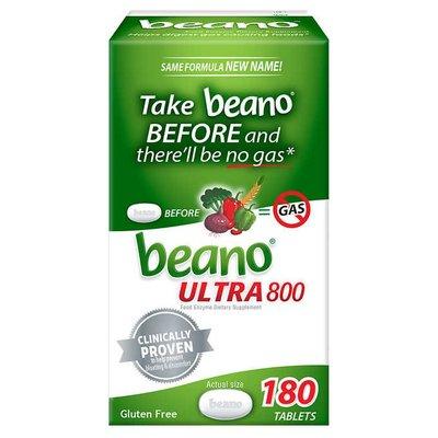 【貓兒美國代購】美國直郵 Beano天然酵素 防胃脹氣腹脹氣咀嚼片150粒/180粒升級裝