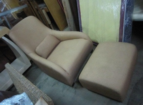 ㊖搬家寄倉=更新二手倉庫㊖主人椅布沙發單人沙發1人沙發靠腳椅  收.購回收餐飲設備家具家電辦公傢俱