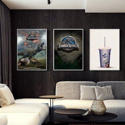 C - R - A - Z - Y - T - O - W - N 侏儸紀世界 Jurassic World電影海報掛畫