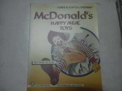 牛哥哥二手藏書☆McDonalds Happy Meal Toys--原文快樂兒童餐玩具圖鑑