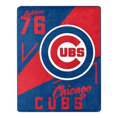 [現貨]美式棒球空調毯 MLB芝加哥小熊Chicago Cubs 毛毯 1876 宿舍交換生日禮品
