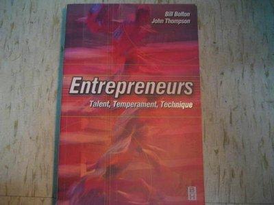 Entreprenerus--Talent, Temperament, Technique / ISBN:0750646233