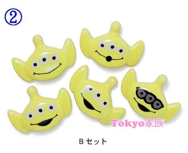 東京家族 三眼筷 筷子架 可愛造型 五入一組 正品正版