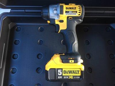 (阿賢外匯工具) 美國 得偉 DEWALT 18V 20V DCF895 鋰電  無刷 衝擊起子 / 4.0Ah 雙鋰電
