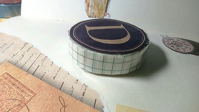 【R的雜貨舖】紙膠帶分裝 倉敷意匠和紙膠帶- 12mm綠色方眼 復刻基礎款 復古