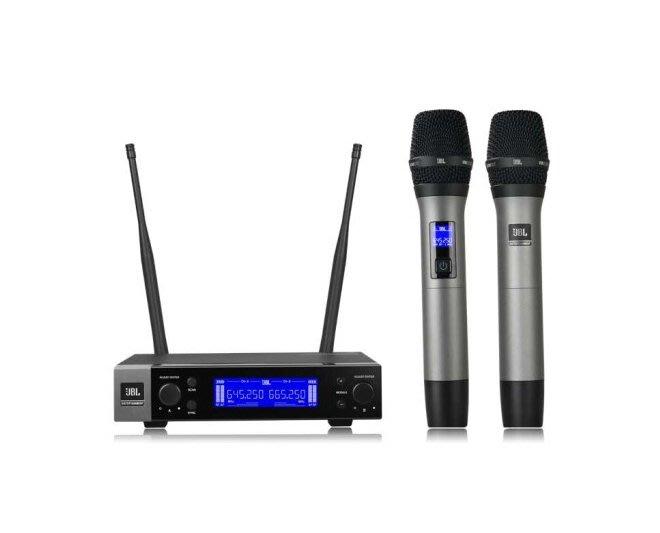 【昌明視聽】美國 JBL VM200 雙通道UHF 自動掃頻 附二支無線麥克風 來電(店)可議價