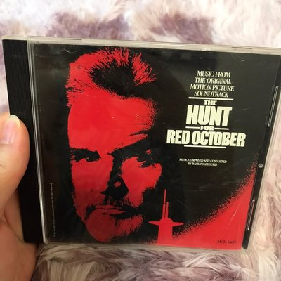 9成新 the hunt for red october 獵殺紅色十月 電影原聲帶 MCA CD 二手