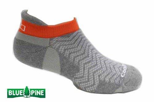 (登山屋)BLUE PINE  COOLMAX 排汗抗菌踝襪 灰色 型號:B61903