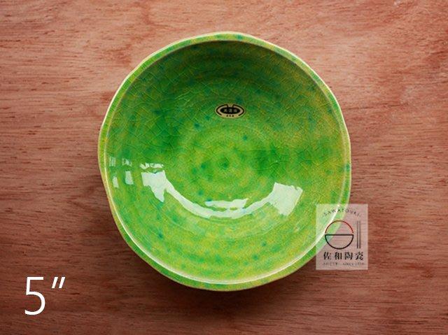 +佐和陶瓷餐具批發+【XL070727-10織部5吋手造皿-日本製】日本製 造型皿 織部 手造皿 前菜盤 煮物 醋物