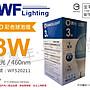 [喜萬年]含稅 舞光 LED 3W 藍色 460nm 全電...