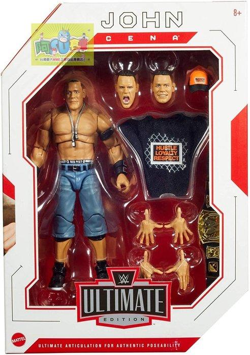 ☆阿Su倉庫☆WWE摔角 John Cena Ultimate Elite Figure 江西南終極精華版人偶公仔熱賣中