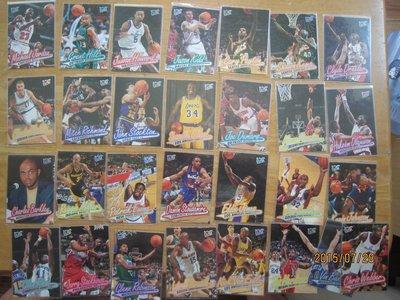 網拍讀賣~96/97~Michael Jordan~超級巨星~籃球大帝~近20年歷史~普卡~共29張~1000元~輕鬆付